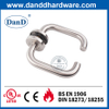 CE Grade 4 Stainless Steel 304 Modern Fire Rated Internal Door Handle-DDTH001