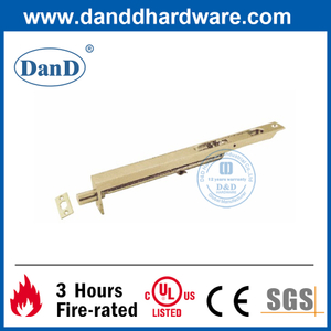 Security Manual Brass Flush Door Bolt for Interior Door-DDDB003