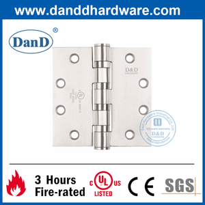 UL Stainless Steel 201 Heavy Duty Hinge for Fire Door-DDSS004-FR