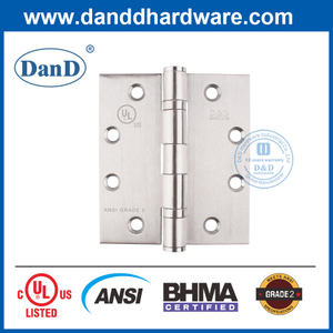 UL ANSI Grade 2 SUS201 Best Commercial Fire Rated Door Hinge-DDSS001-ANSI-2